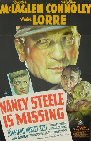 Nancy Steele Is Missing! - Movie Poster (thumbnail)