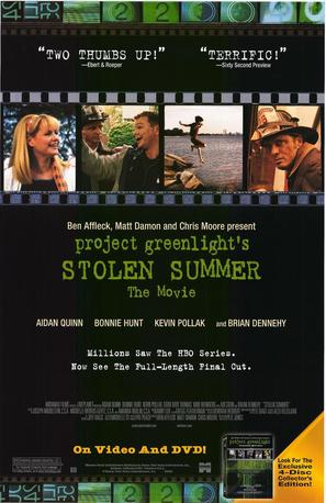 Stolen Summer - Video release poster (thumbnail)