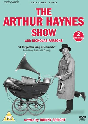 """The Arthur Haynes Show"" - British DVD cover (thumbnail)"