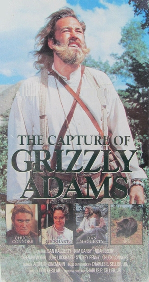 The Capture of Grizzly Adams - Movie Cover (thumbnail)