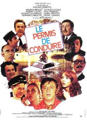 Le permis de conduire - French Movie Poster (thumbnail)