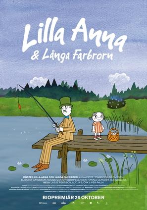 Lilla Anna och Långa farbrorn - Swedish Movie Poster (thumbnail)