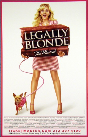 Legally Blonde: The Musical - Movie Poster (thumbnail)