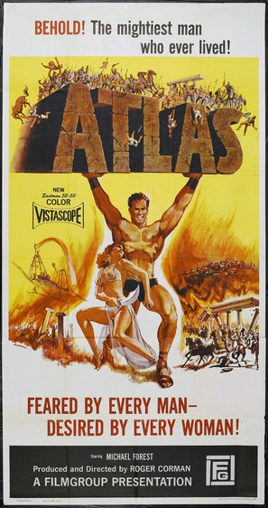 Atlas - Movie Poster (thumbnail)