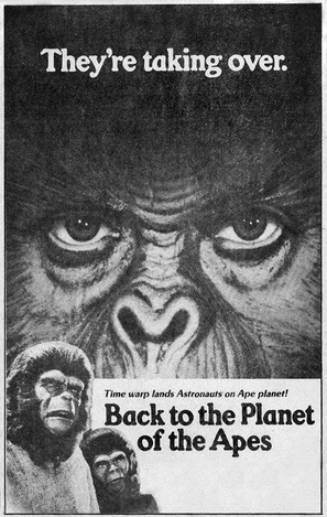 Back to the Planet of the Apes - poster (thumbnail)