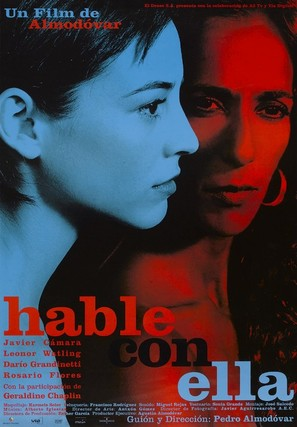 Hable con ella - Spanish Movie Poster (thumbnail)