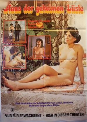 Das Haus der geheimen Lüste - German Movie Poster (thumbnail)