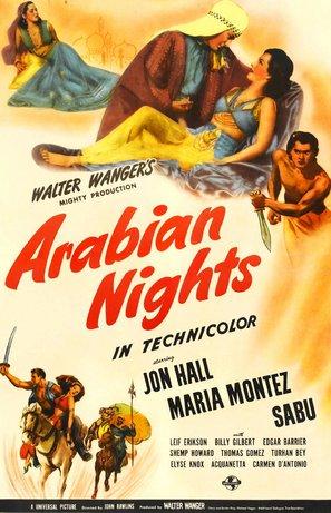 Arabian Nights - Movie Poster (thumbnail)