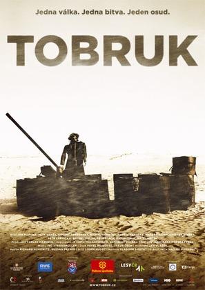 Tobruk - Czech Movie Poster (thumbnail)