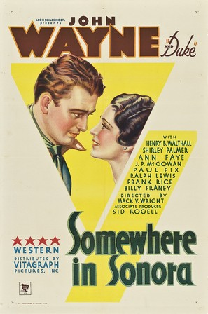 Somewhere in Sonora - Movie Poster (thumbnail)