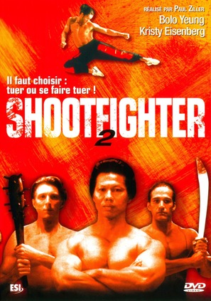 Shootfighter II - French Movie Cover (thumbnail)