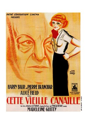 Cette vieille canaille - French Movie Poster (thumbnail)