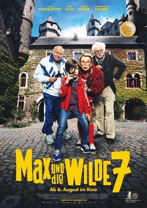 Max und die wilde 7 - German Movie Poster (thumbnail)