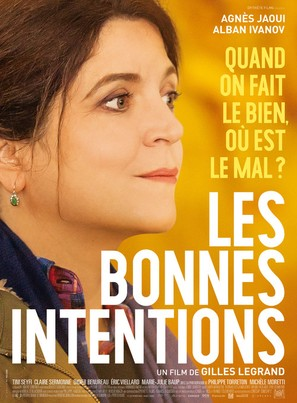 Les bonnes intentions - French Movie Poster (thumbnail)