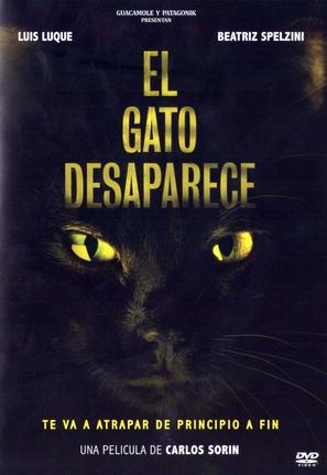 El gato desaparece - Argentinian DVD cover (thumbnail)