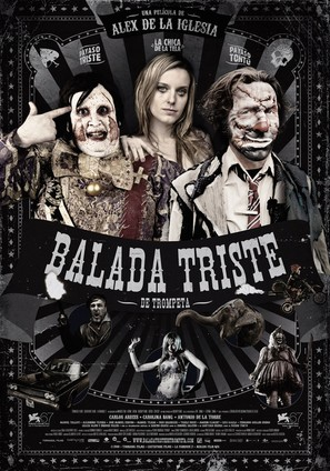 Balada triste de trompeta - Spanish Movie Poster (thumbnail)