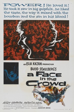 A Face in the Crowd - Movie Poster (thumbnail)