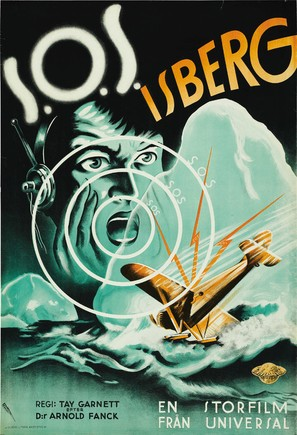 S.O.S. Iceberg - Swedish Movie Poster (thumbnail)