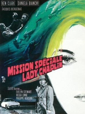 Missione speciale Lady Chaplin - French poster (thumbnail)