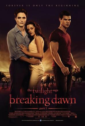 The Twilight Saga: Breaking Dawn - Part 1 - Movie Poster (thumbnail)