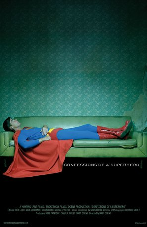 Confessions of a Superhero - poster (thumbnail)