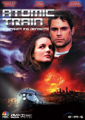 Atomic Train - German DVD movie cover (thumbnail)