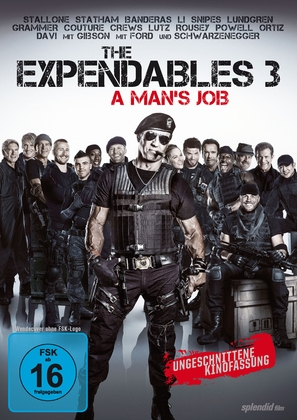 The Expendables 3 - German DVD cover (thumbnail)