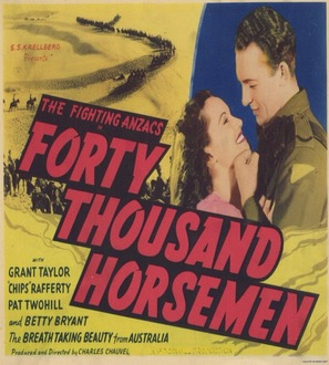 40,000 Horsemen - Australian Movie Poster (thumbnail)