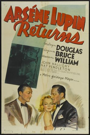 Arsène Lupin Returns - Movie Poster (thumbnail)