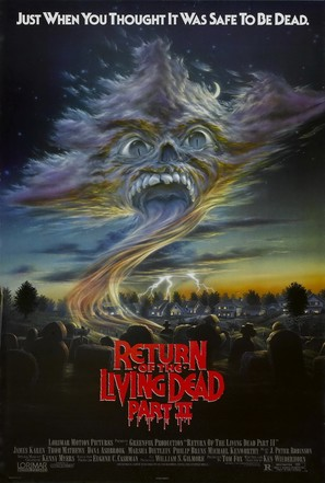 Return of the Living Dead Part II - Movie Poster (thumbnail)