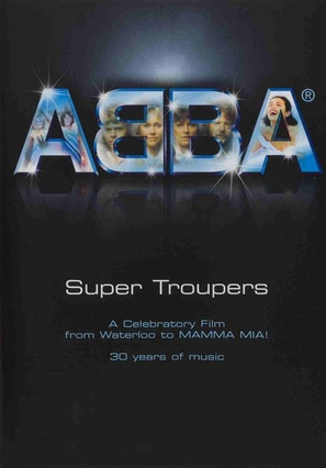 Super Troupers: Thirty Years of ABBA - DVD cover (thumbnail)