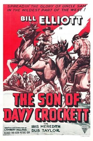 The Son of Davy Crockett - Movie Poster (thumbnail)