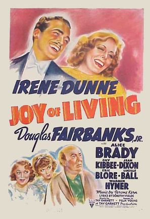 Joy of Living - Movie Poster (thumbnail)