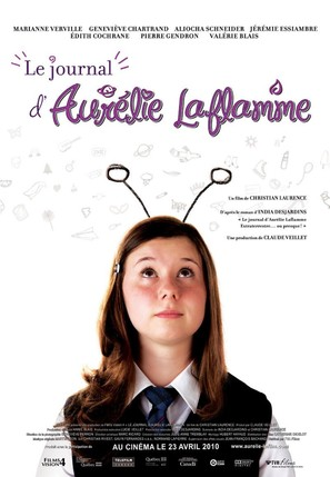Le journal d'Aurélie Laflamme - Canadian Movie Poster (thumbnail)
