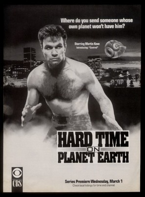 """""""Hard Time on Planet Earth"""" - Movie Poster (thumbnail)"""