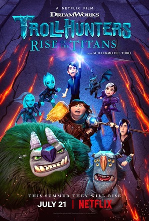 """""""Trollhunters"""" - Movie Poster (thumbnail)"""