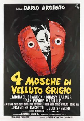 4 mosche di velluto grigio - Italian Movie Poster (thumbnail)