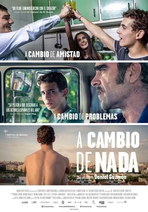 A cambio de nada - Spanish Movie Poster (thumbnail)