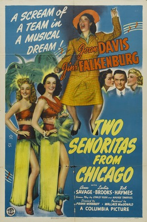 Two Señoritas from Chicago - Movie Poster (thumbnail)