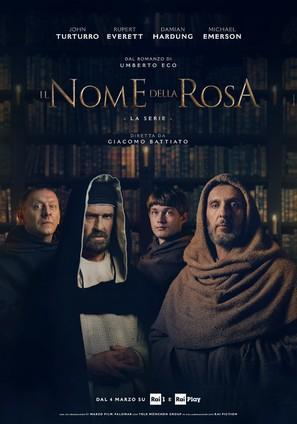 """""""Der Name der Rose"""" - Italian Movie Poster (thumbnail)"""
