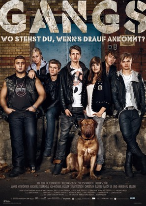 Gangs - German Movie Poster (thumbnail)