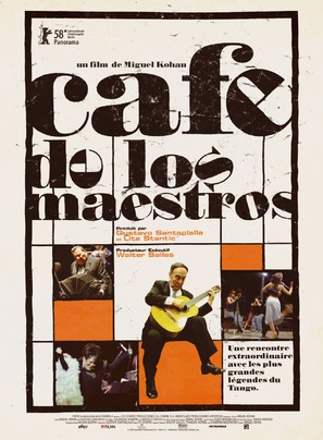 Cafe de los maestros - French Movie Poster (thumbnail)
