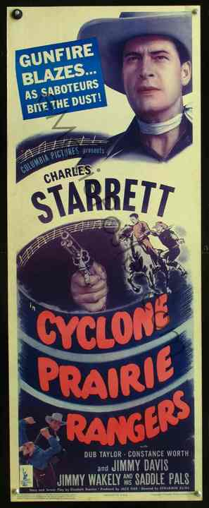 Cyclone Prairie Rangers - Movie Poster (thumbnail)