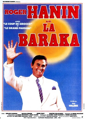 La baraka - French Movie Poster (thumbnail)
