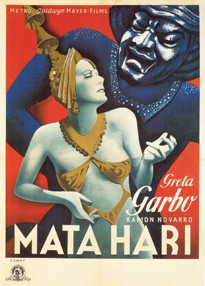 Mata Hari - Movie Poster (thumbnail)
