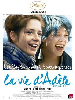La vie d'Adèle - French Movie Poster (thumbnail)