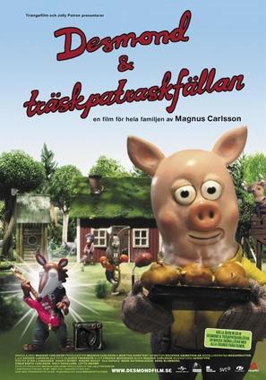 Desmond & träskpatraskfällan - Swedish Movie Poster (thumbnail)