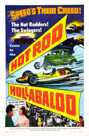 Hot Rod Hullabaloo - Movie Poster (thumbnail)