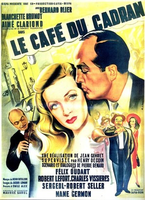 Le café du cadran - French Movie Poster (thumbnail)