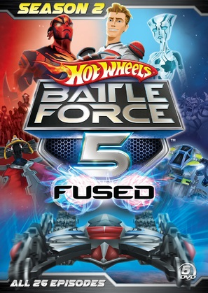 """Hot Wheels: Battle Force 5"" - DVD cover (thumbnail)"